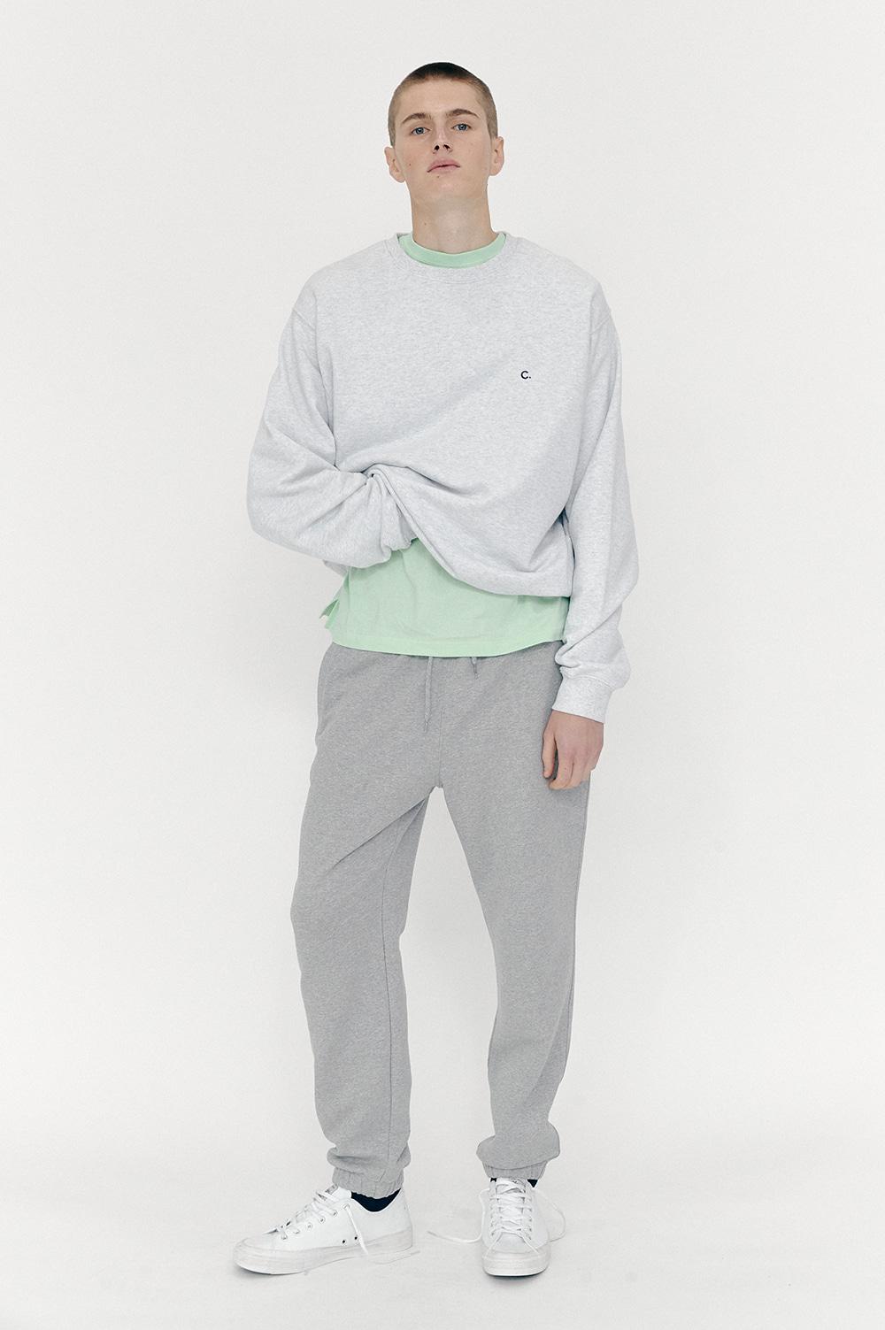 클로브(CLOVE) New Active Sweat Pants (Melange Grey)